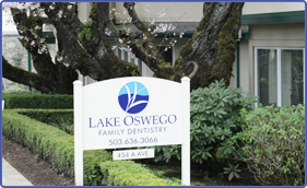 Lake Oswego Family Dentistry office